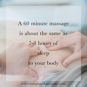 Redeeming Touch Massage Facts